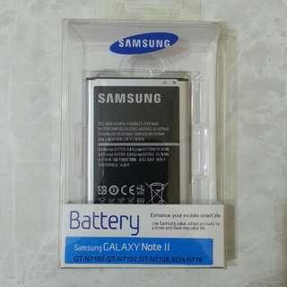 Samsung Note II 手機電池