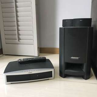 Bose 3-2-1 Home DVD Stereo System