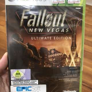 Xbox 360 Game Fallout New Vegas Ultimate edition