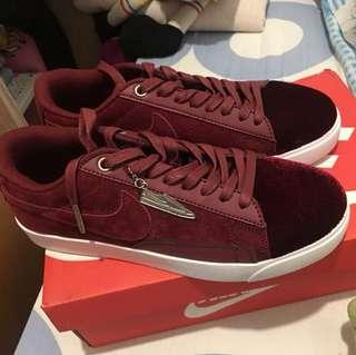 Reduced!!!Nike women blazer Low Lx Burgundy frm $100 reduced to $90