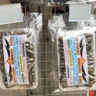 Ikan Billih Goreng asli Danau Singkarak