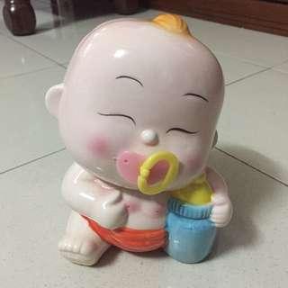 Cute Baby Coin Box