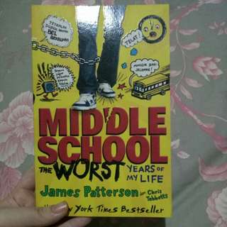 Novel Middle School by James Patterson