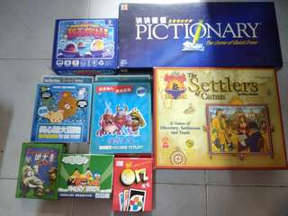 桌上遊戲8盒