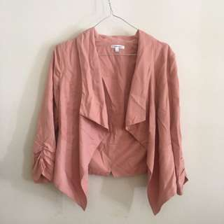 Pink workwear coat