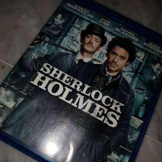 sherlock holmes movie blu-ray disk