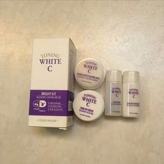Toning White C Bright Kit