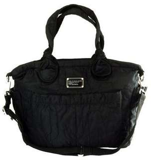Marc by Marc Jacobs Pretty Eliz Travel Black Nylon Diaper Bag