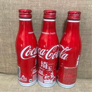 [全新] Coca Cola 可口可樂日本限定2017埼玉紀念鋁樽可樂
