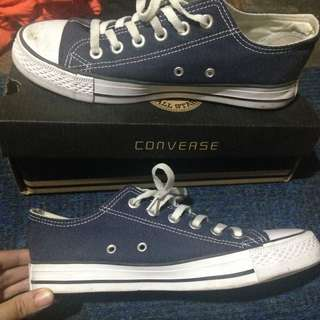 CONVERSE DARK BLUE TWICE WORN (Replica/Class A)