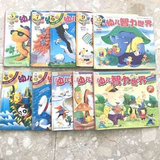 Chinese magazine set of 10 books