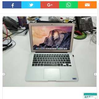 Macbook Air early 2014 i5 13 inch