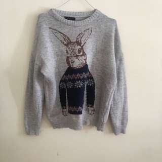 Knit winter jumper