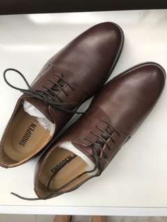 Office shoes, brown color, SHOOPEN