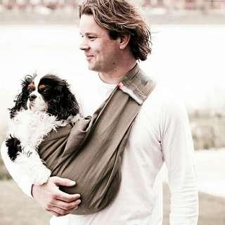 歐美時尚斜挎寵物背巾寵物背包狗包貓包外出便携狗包