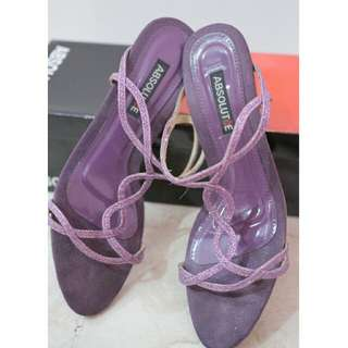 Turun HARGA !! Must Go! Selop ABSOLUTeE purple size 37