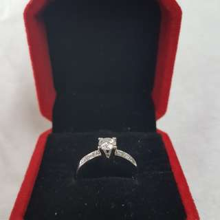 Engagement ring half carat (14k)