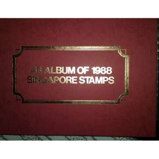 An Album of 1988 Singapore Stamps