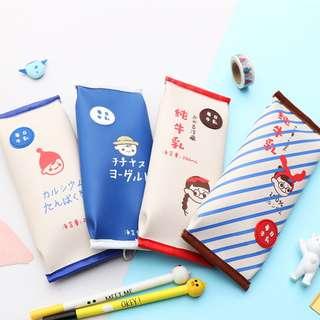 Pure Milk 100 Percent Flat Pencil Case