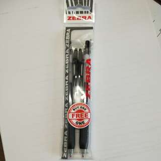 Sarasa 0.7 black pen