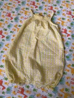 Seed Baby Yellow Romper (3-6M)