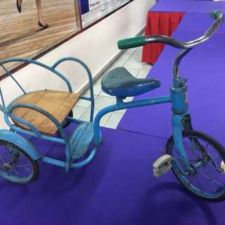 Vintage children bicycle ( completely metal body )
