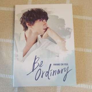 黃致列的首張迷你專輯[Be ordinary]