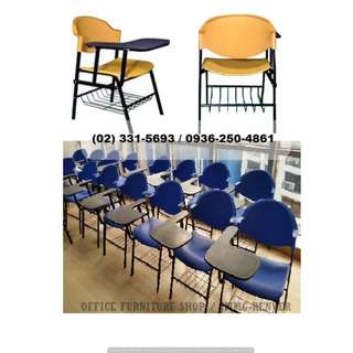 #School Chair_With Tablet_ Office Partition*Furniture