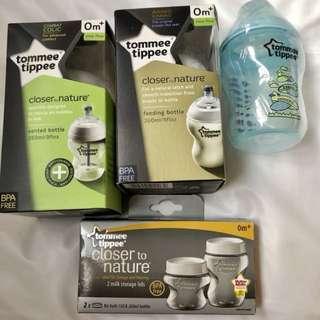 Tommee Tippee Milk Bottle