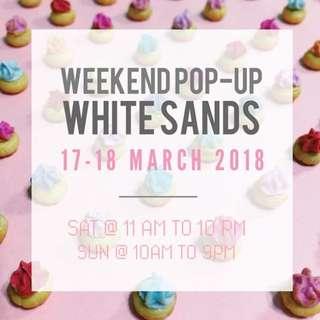 POP UP @ WHITESANDS