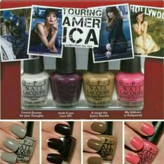 Kutek OPI Ori 3.75 mL (sisa 3 warna, yg grey sold)