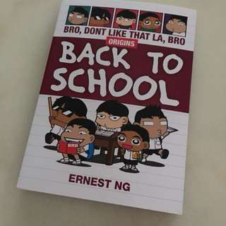 Back to school comic + story book