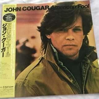 John Cougar - America Fool Japan LP
