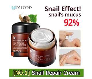 [Flash Sale] - Mizon All In One Snail Repair Cream 75ml