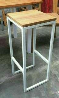 kursi cafe/bar tinggi 75cm
