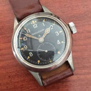 JAEGER LeCOULTRE JLC 1940's WWW British Military Issued WW2 Army Vintage Wrist Watch RARE