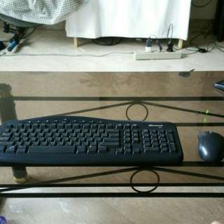 Microsoft wireless Keyboard and mouse