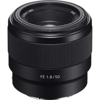 Sony FE 50mm f1.8 Lens kredit tanpa kartu kredit