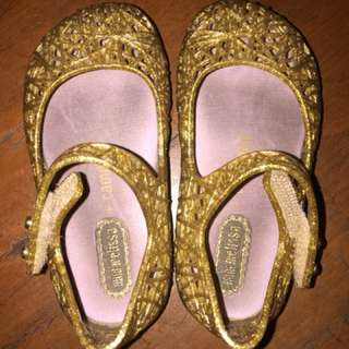 Original Melissa Shoes Gold