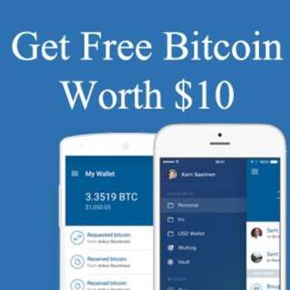 FREE USD10 for Bitcoin Trading with Coinbase NO T&Cs!