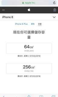 iphone8 plus 256G