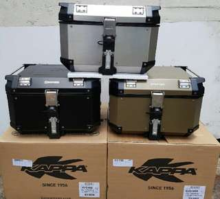 KAPPA KVE48 ALUMINIUM TOP BOX
