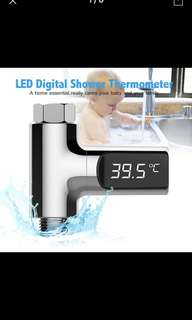 Home shower 🚿 LED display thermometer for baby care