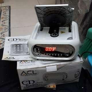 ACL CD 收音機 鬧鐘組合