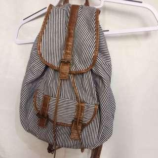Striped Backpack ✨