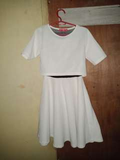 Amore power white dress