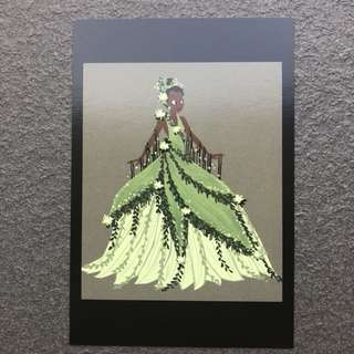 Disney Princess & The Frog Postcard