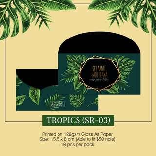 Sampul Duit Raya -Tropics SR03