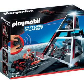 Playmobil 5153 Darksters Headquarters Space Future Planet Darksters Headquarters Base Gi Joe Star Wars Microman 1/18 Scale Marvel Universe Police Station Remote Control Car