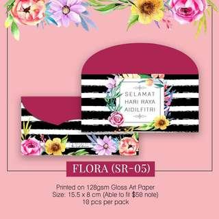 Sampul Duit Raya-Flora SR05